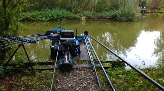 2nd placed at Lands End Fishery, Bridgwater,90lb