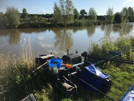 3rd placed at Lower Park Fishery in a closefinish