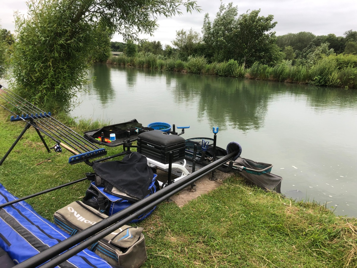 Woodland View open, Hay pool peg 6 – 51lb 2nd insection.